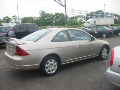 Used 2002 Honda Civic Coupe EX-Tan-Auto-112015 | Jordan Cars